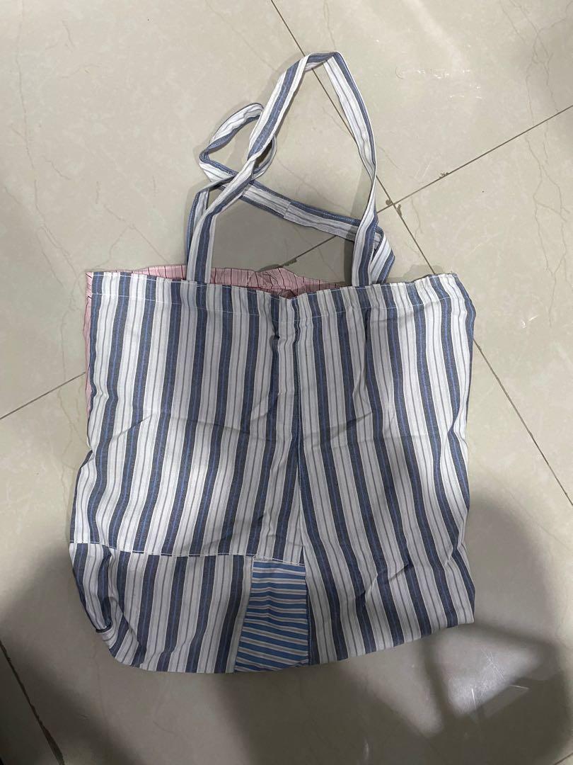 Recycled tote bag from shirt #awal2021