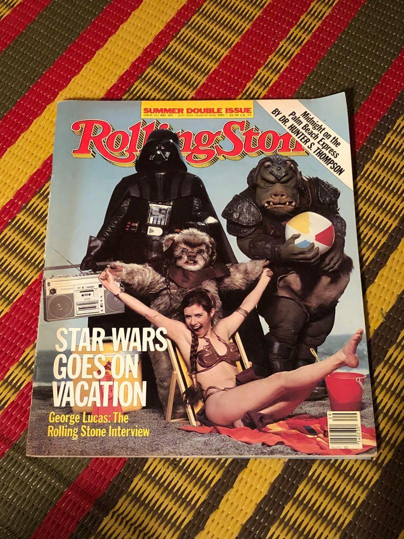Rolling Stone Magazine August 1983 Star Wars Hunter S Thompson