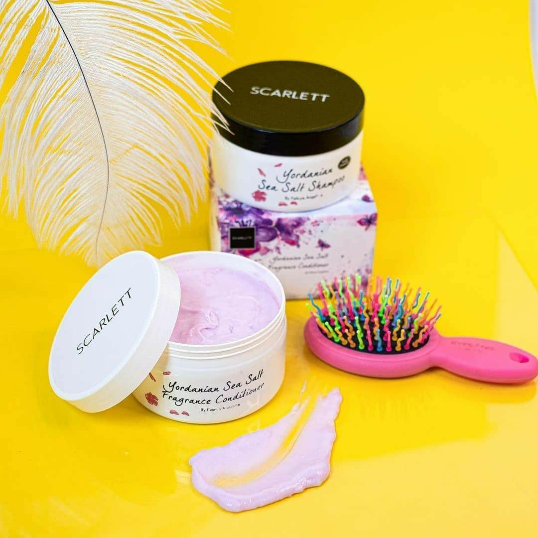 Scarlett Yordanian Sea Salt Shampoo & Fragrance Conditioner