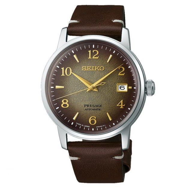 SEIKO精工 Presage 調酒師系列 京都名茶限量機械腕錶