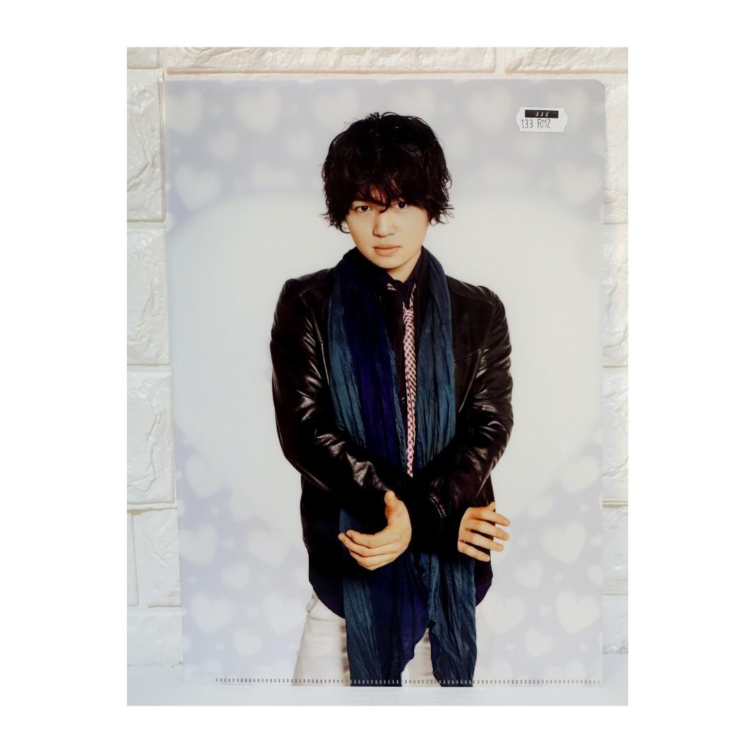 Sexy Zone Kikuchi Fuma Clearfile