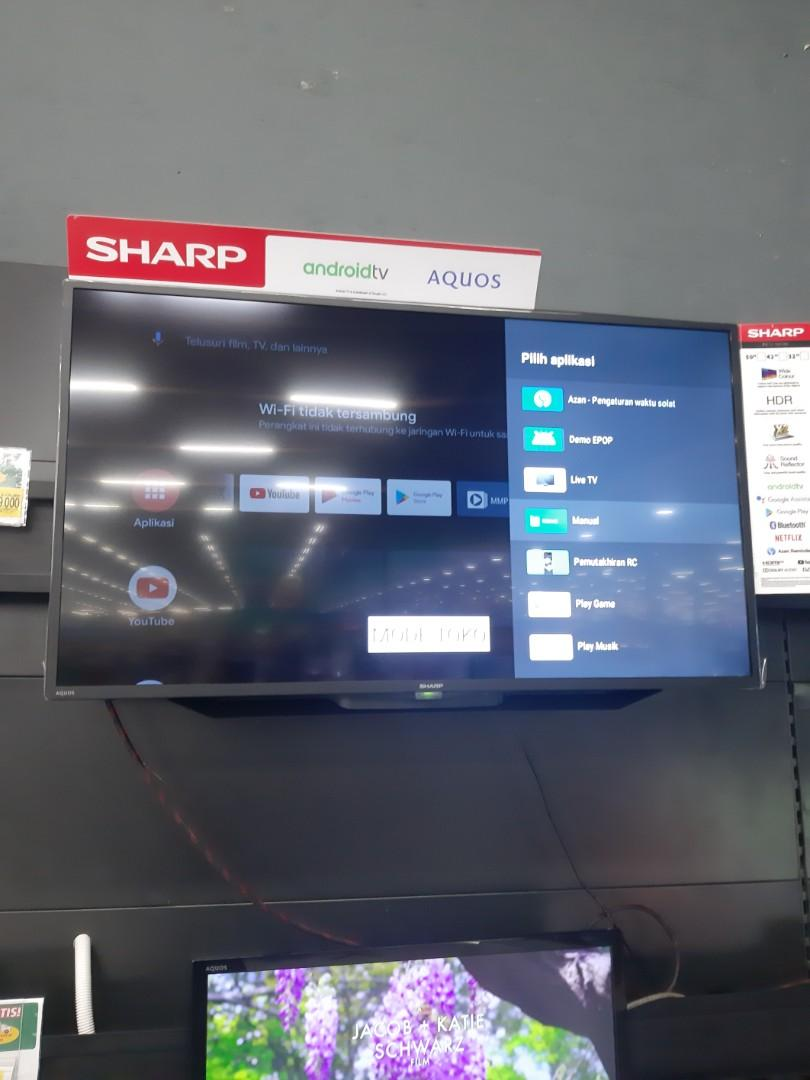 Sharp Android TV 42 inch bisa cicilan