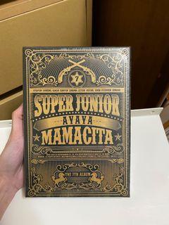 Super Junior 7輯 Mamacita 專輯全新未拆封