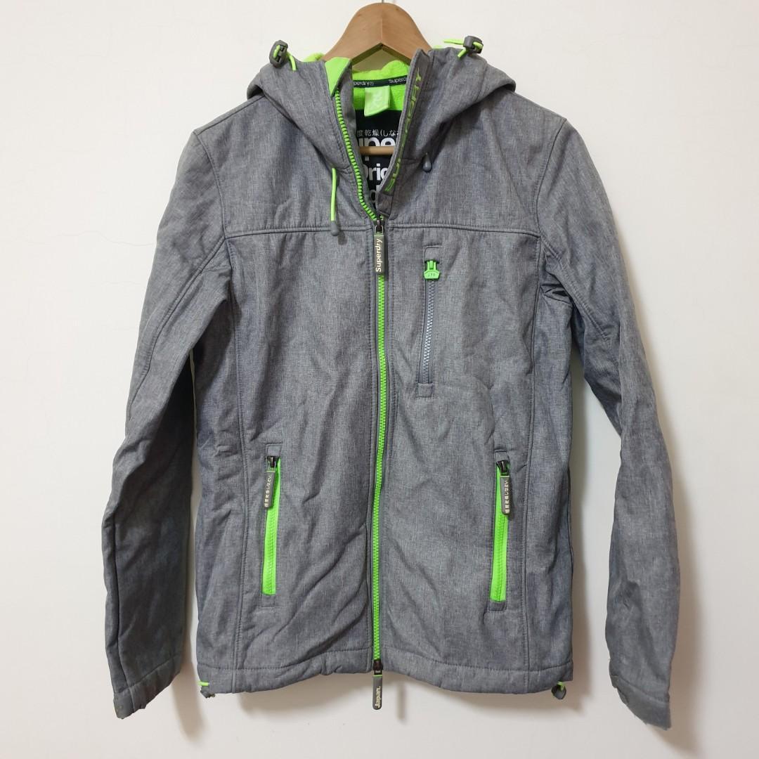 SUPERDRY  極度乾燥 衝鋒外套 時尚潮流 國民衣 冬天必備