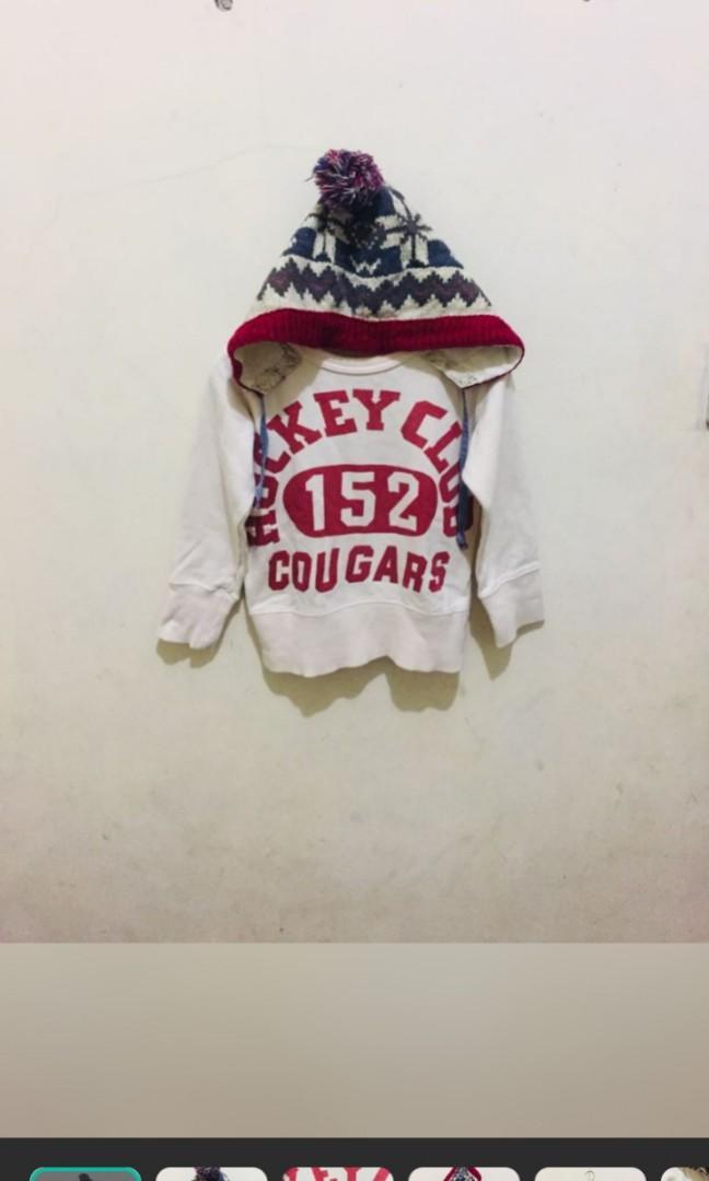 Sweater anak 3-4 t