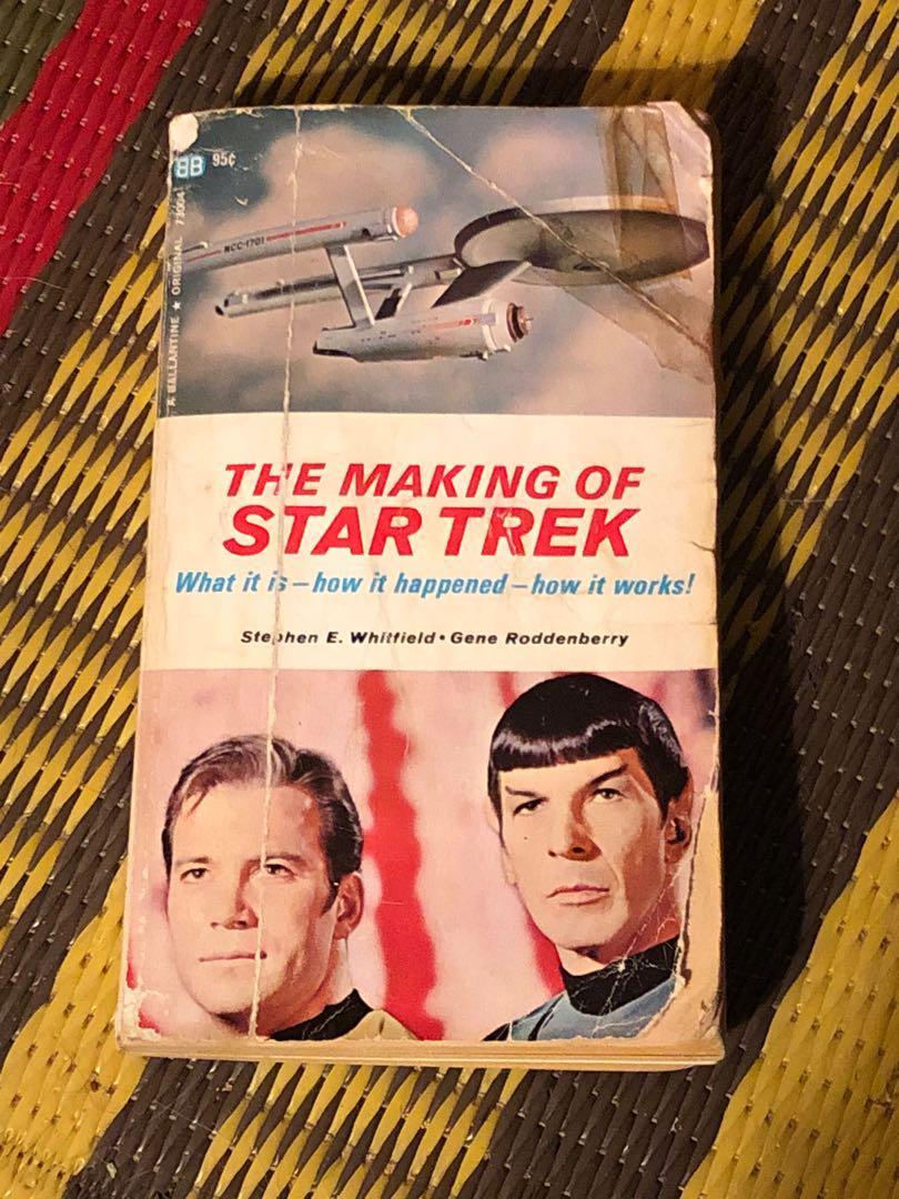 The Making of Star Trek third printing 1969 paperback
