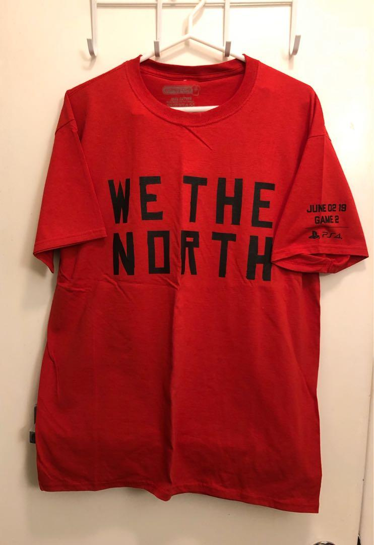 Toronto Raptors We The North 2019 playoffs t shirts size large and XL