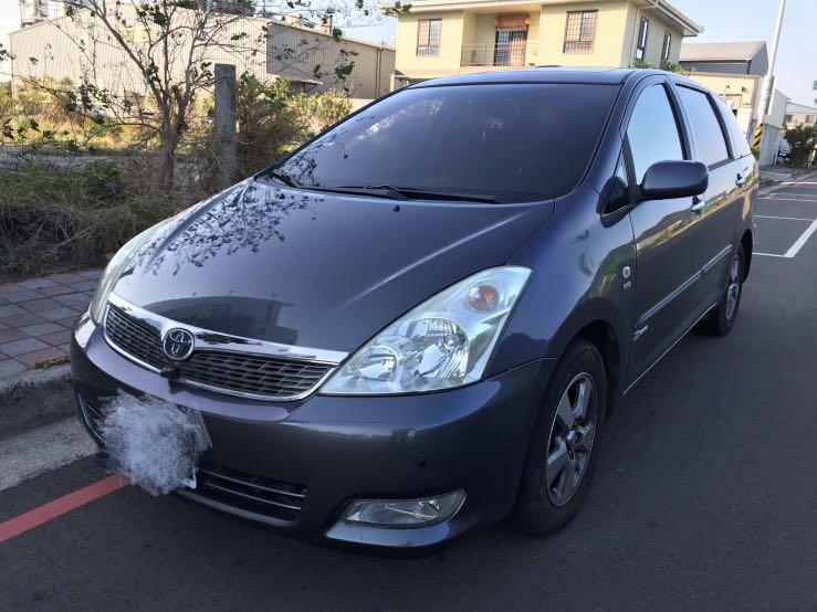 Toyota wish 2.0 G版