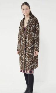 Urban Outfitters Cheetah Print Jacket - XS