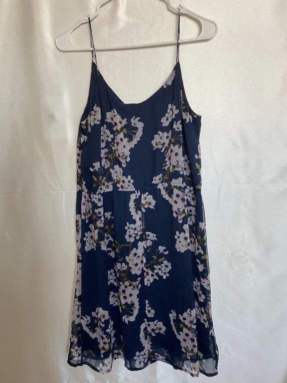 Vero Moda - Blue Floral Summer Dress - Large