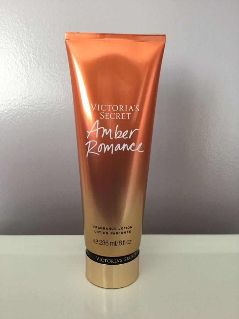 Victoria's Secret-Amber Romance Fragrance Lotion. New. Sealed.
