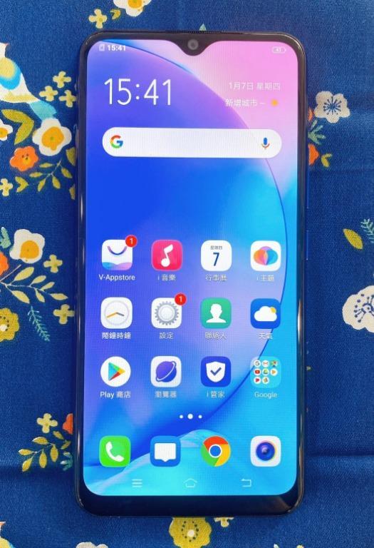 VIVO Y12 3+64G 6.35吋 湖水藍 #保固中 #二手機 #勝利店 12494