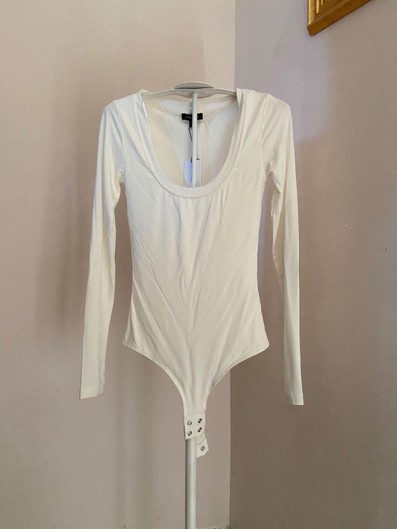 White dynamite bodysuit