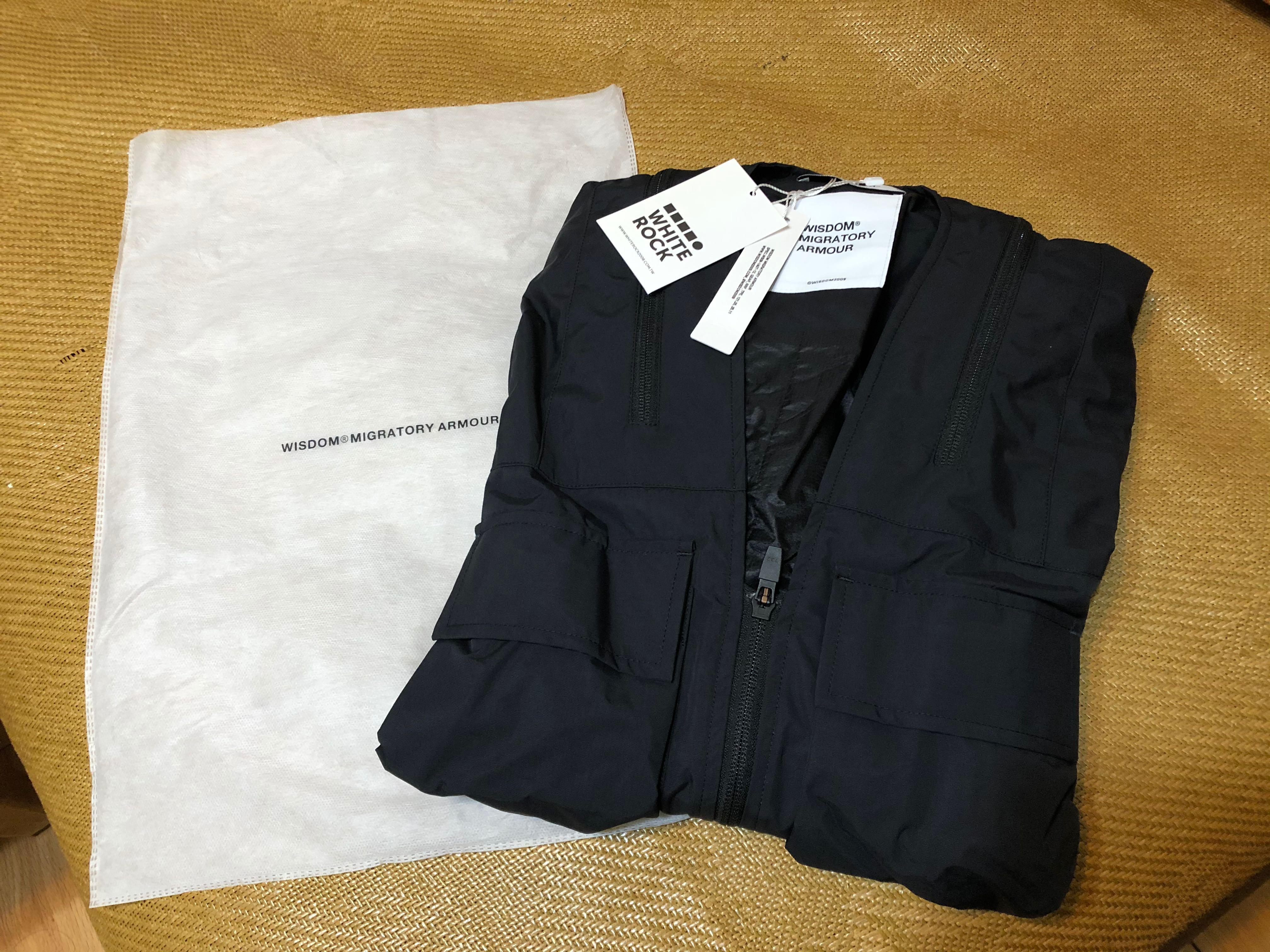 Wisdom Multi-zip Jacket 外套 軍裝 黑 多層次