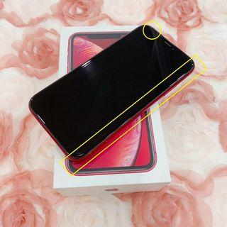 iPhone XR 128G 紅 6.1吋 #零件機 #勝利店 38630