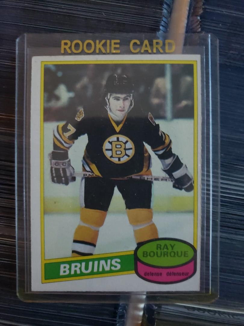1980/81 O-PEE-CHEE RAY BOURQUE ROOKIE #140 CONDITION NRMT-MT BOSTON BRUINS