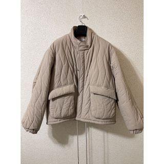 韓國波紋設計鋪棉外套