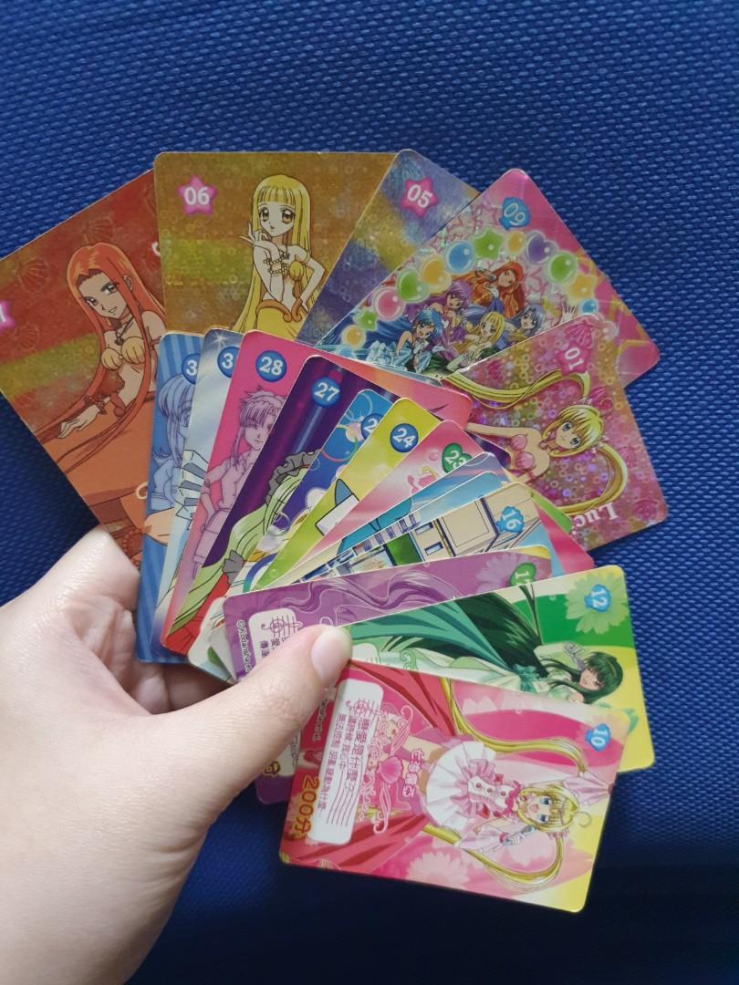 真珠美人魚 收藏品 收藏卡 遊戲卡