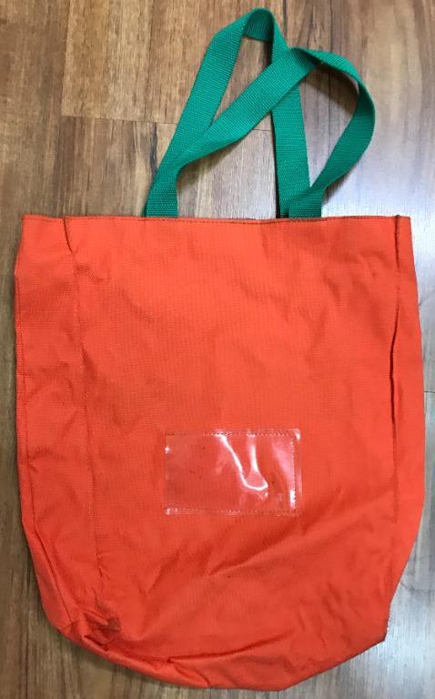 橘紅袋子/書包(補習班袋子) bag