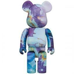 [B168預購] BE@RBRICK Pushead #5 Purple Pattern 400% 大理石