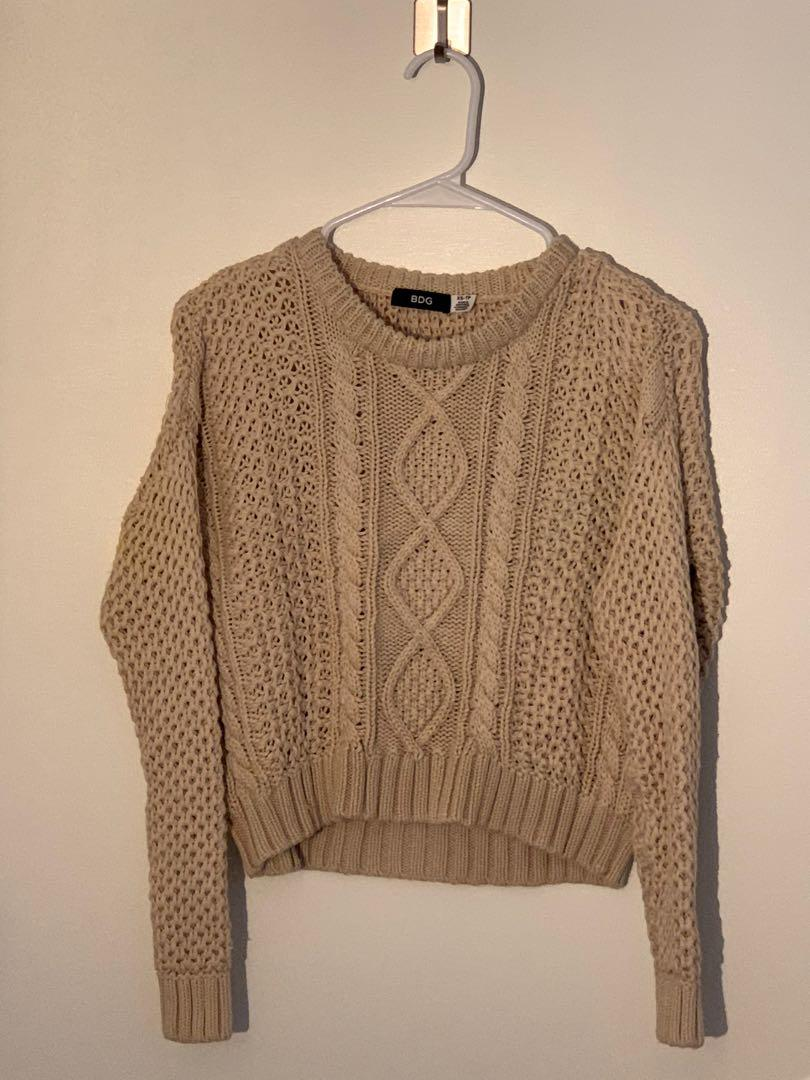 BDG Sweater Crop Top, Size XS-TP