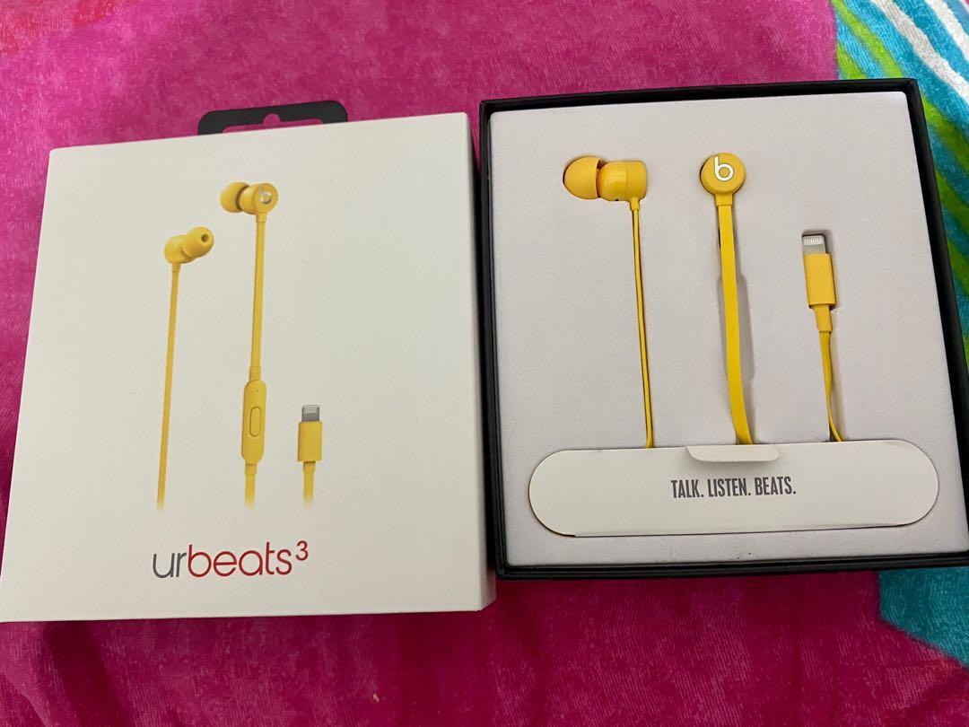 beats urbeats3 耳機 Lightning 接頭 iphone