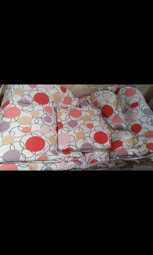 Bed cover katun set 160 t 20