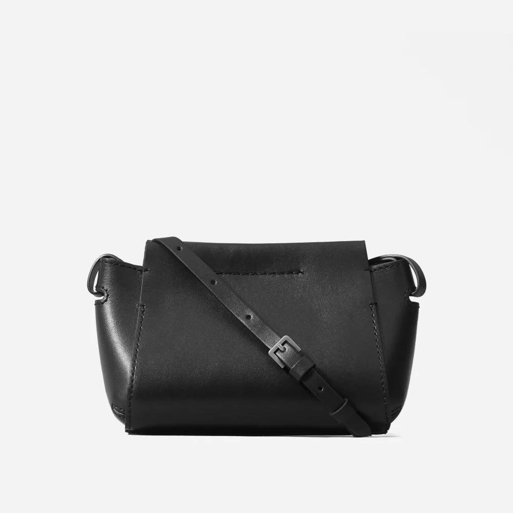 Everlane Micro Form Bag - Black