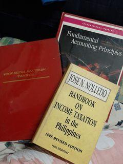 Fundamental Accounting Principles and Handbook for Income Taxation