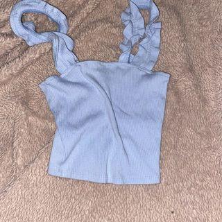 GARAGE BABY BLUE TANK