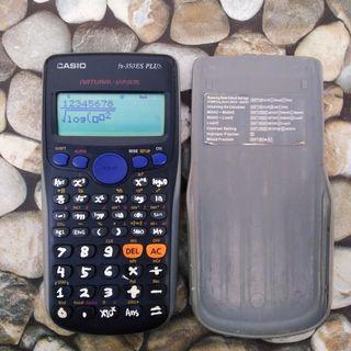 Kalkulator Casio Ilmiah/Scientific Fx-350 ES PLUS