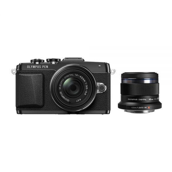 Kredit Olympus PEN E-PL7 with 14-42mm f3.5-5.6 II R + Lens 45mm F1.8