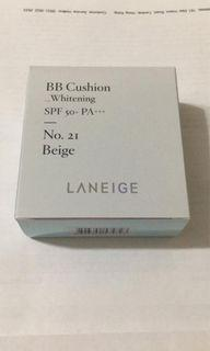 Laneige mini bb cushion 5g 迷利 no.21 beige