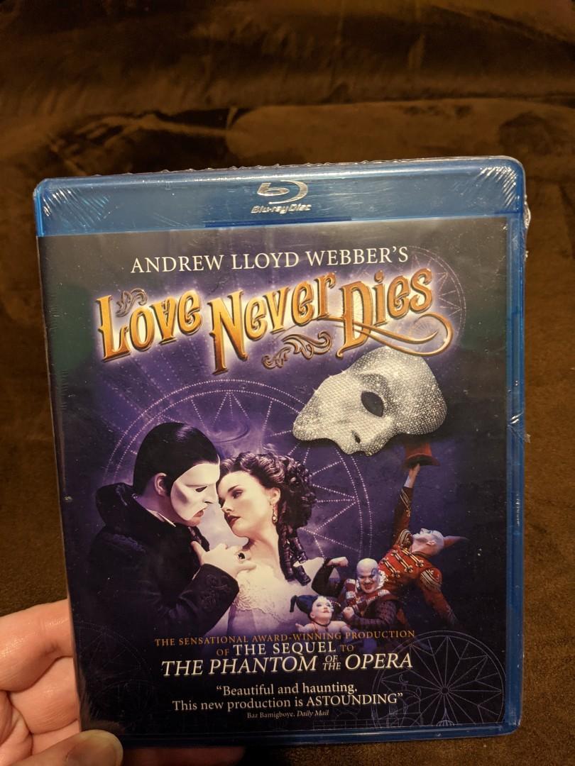 Love Never Dies BluRay