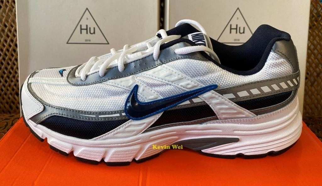 Nike Initiator 白黑藍 394055-101 慢跑鞋 US10.5