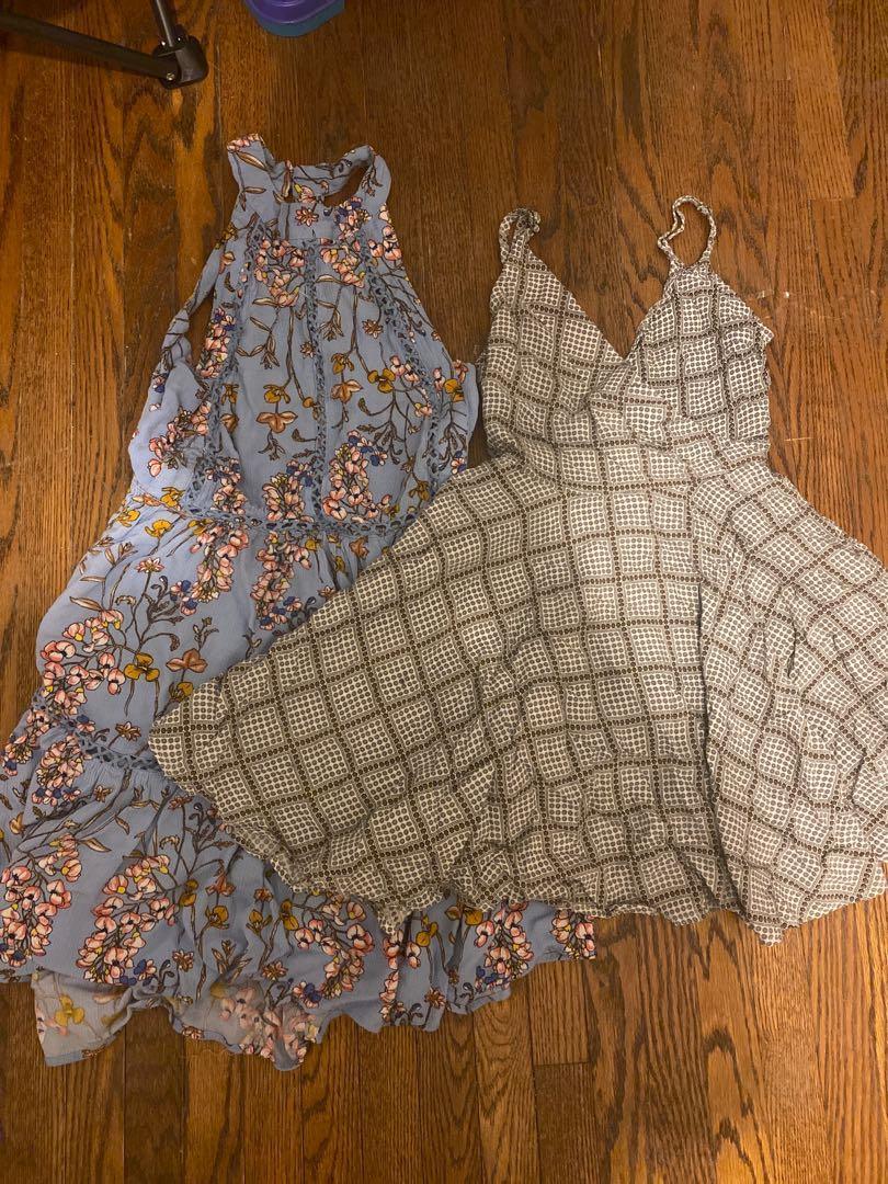 Patterned Dress Set