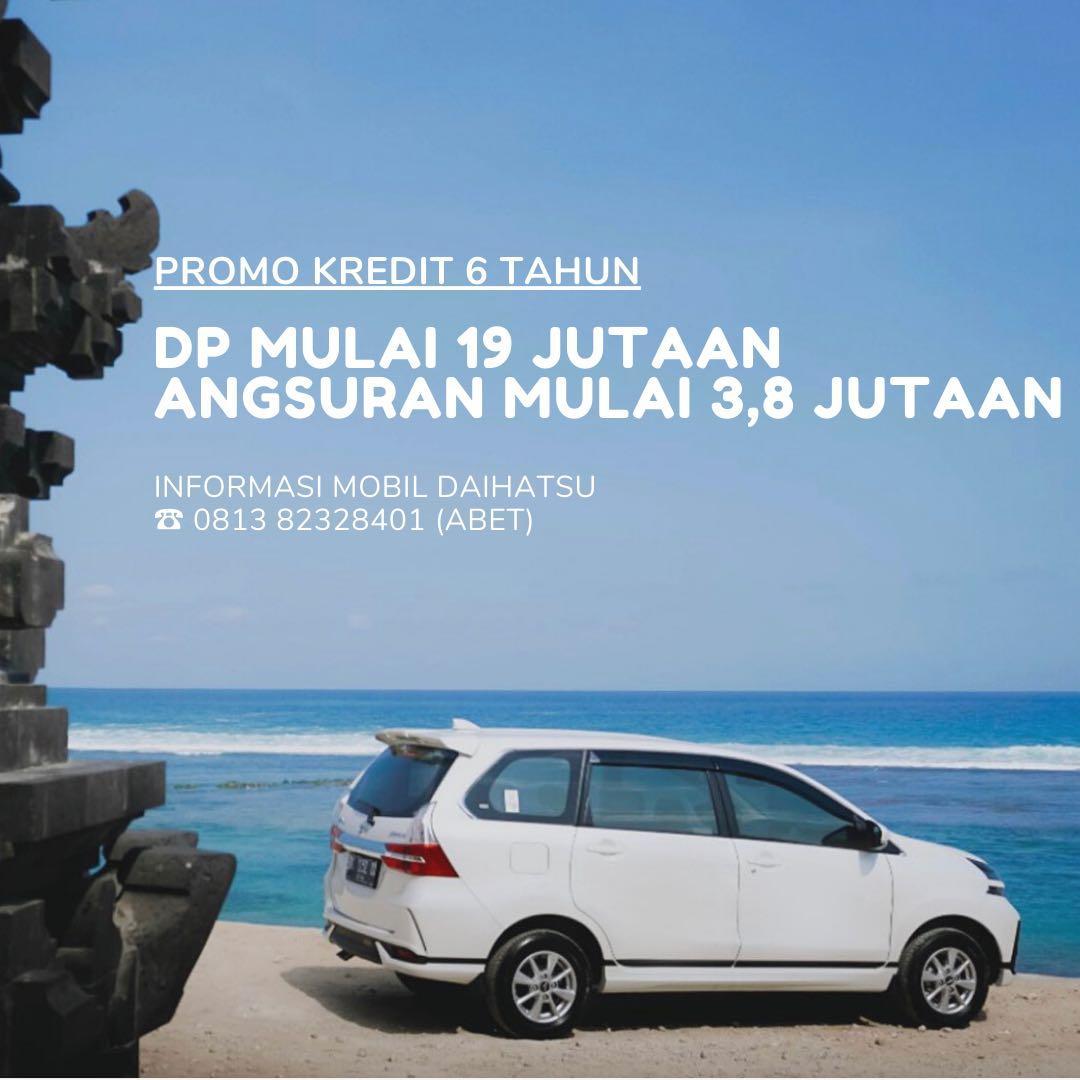 PROMO DP RINGAN Daihatsu Xenia mulai 19 jutaan. Daihatsu Fatmawati