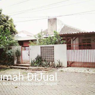 Rumah di jual di Bukit Nusa Indah, Tangsel