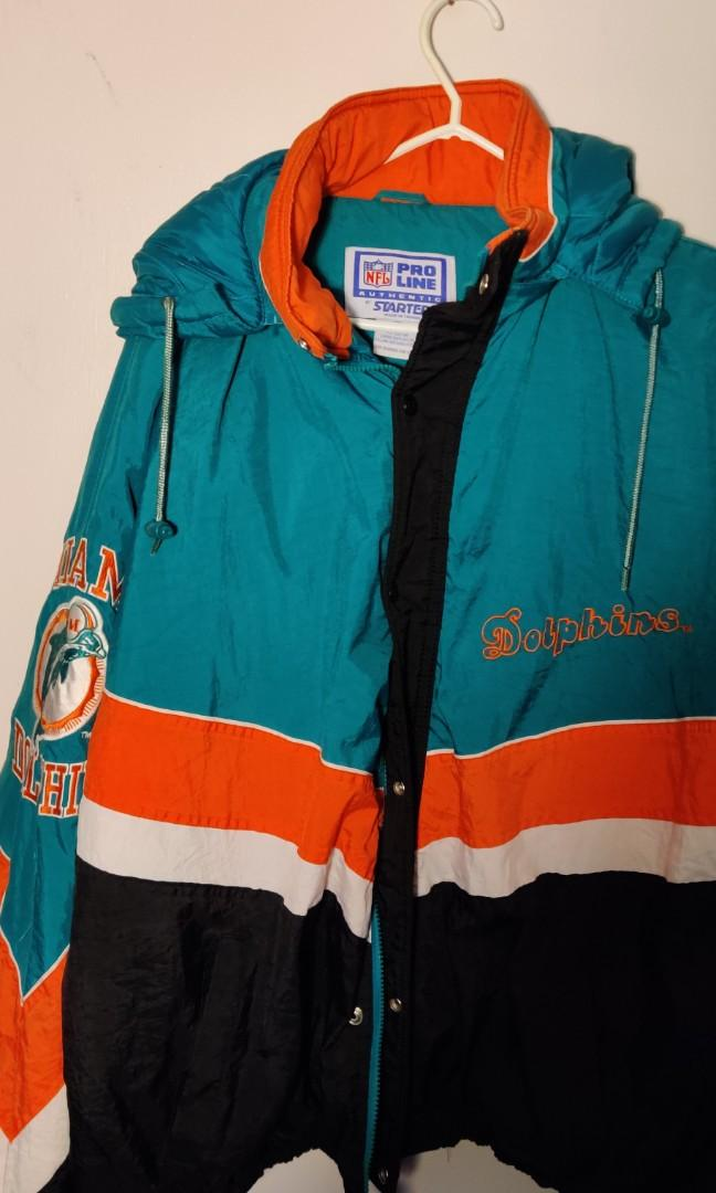 Starter Pro line Miami Dolphins Jacket