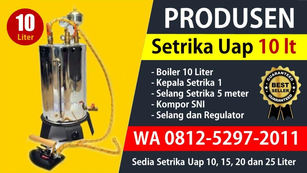 TERMURAH!! WA 0812-5297-2011, Lokasi Beli Setrika Uap Laundry 10, 15, 20, 25 Liter Di Madiun