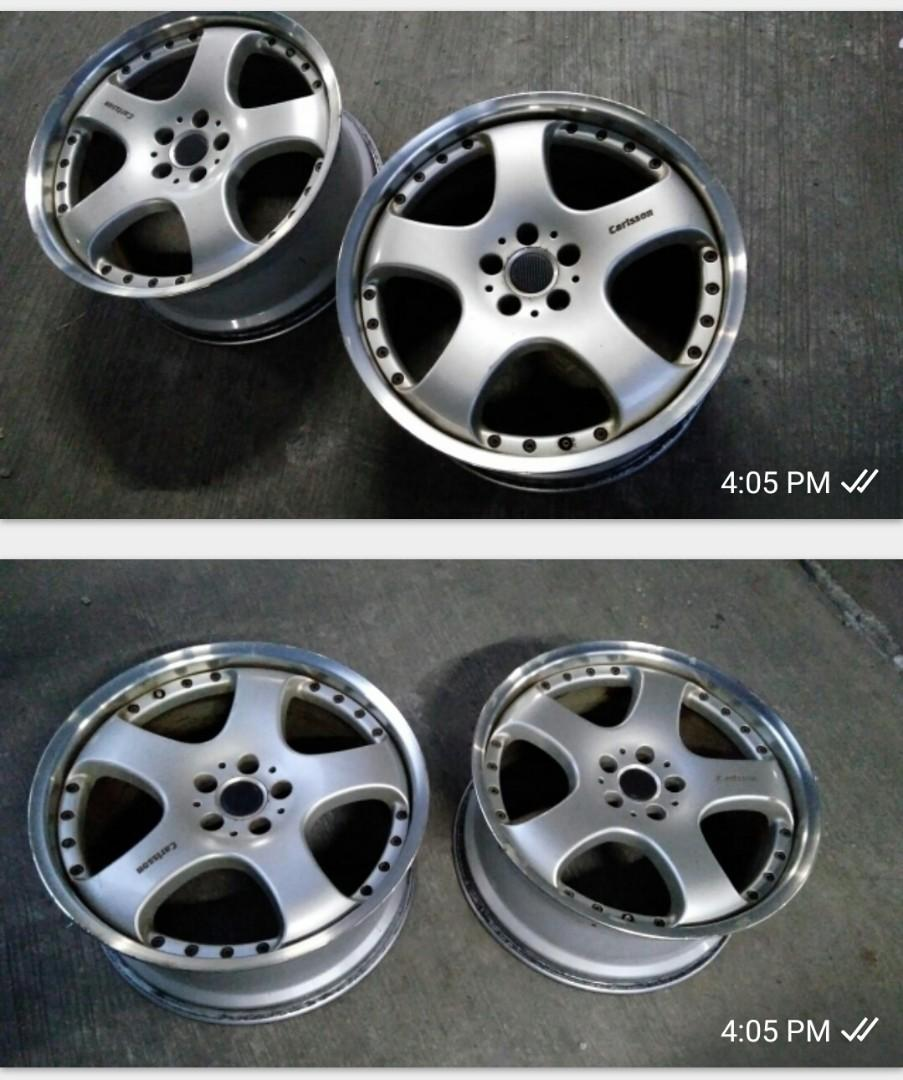 Velg Mercedes Benz Carlsson 2/5 20 inch 5x112 two piece original by Ronal Germany
