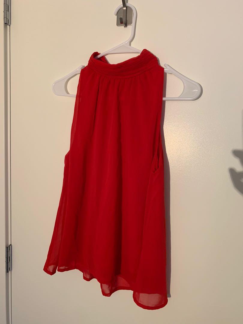 Veto Moda Top, Size S, Color Red