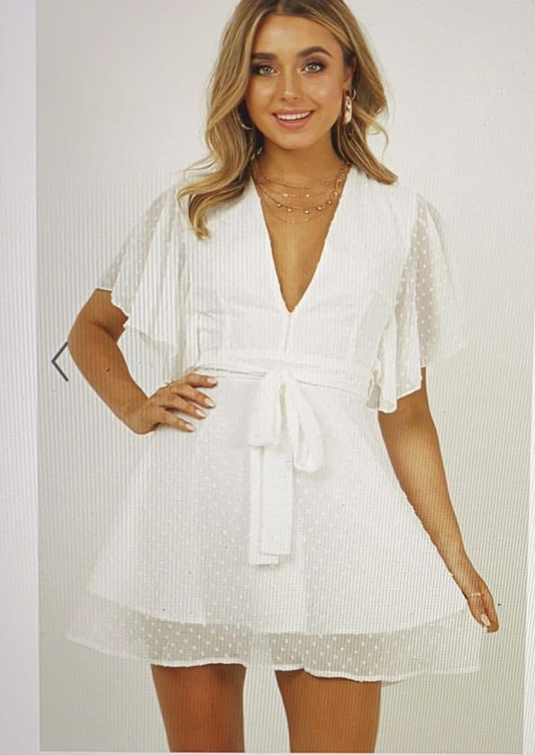 White Showpo dress