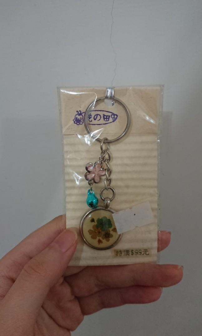 壓花吊飾鑰匙圈