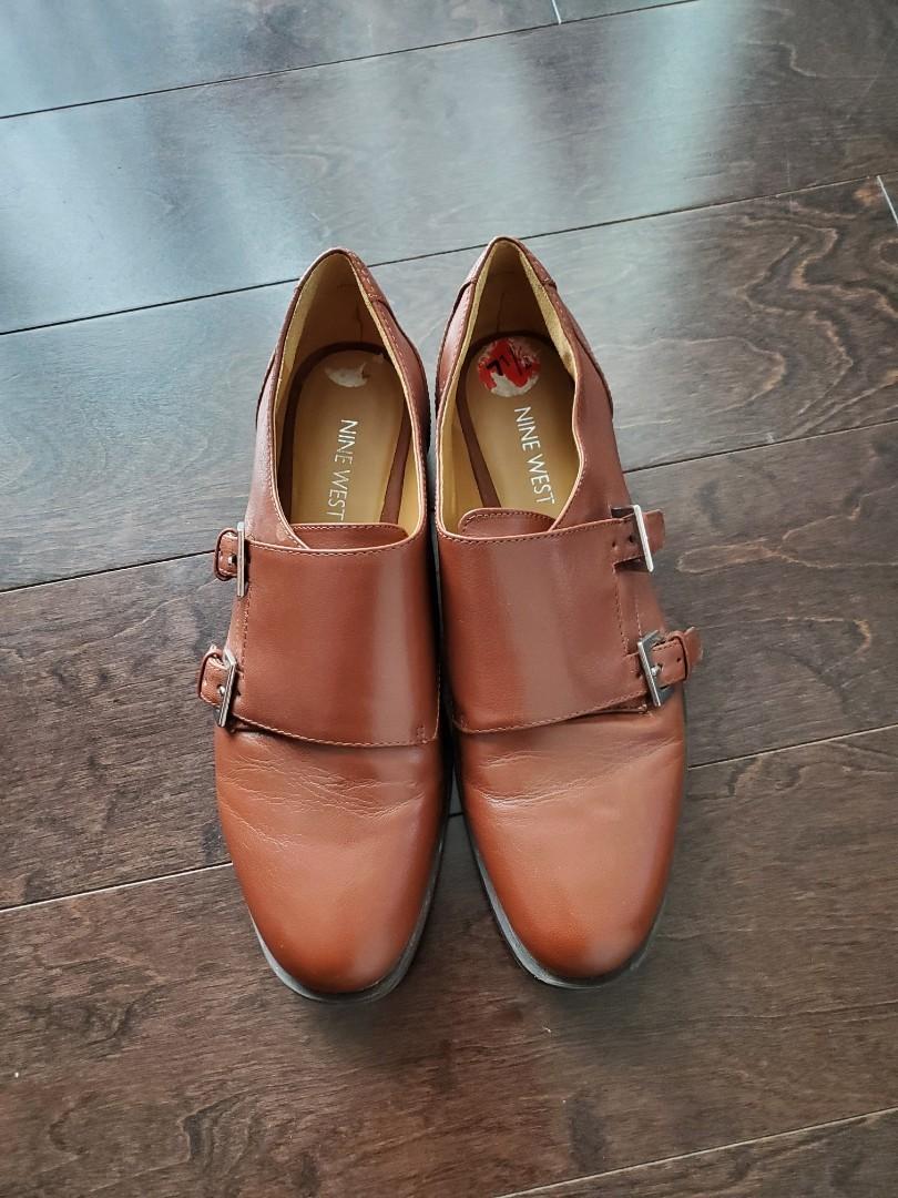 Aldo Women's Brown Oxford Shoes - Size 7.5