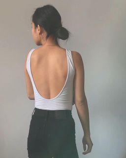 Aritzia low back bodysuit