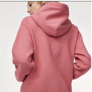 Aritzia Pink Perfect hoodie