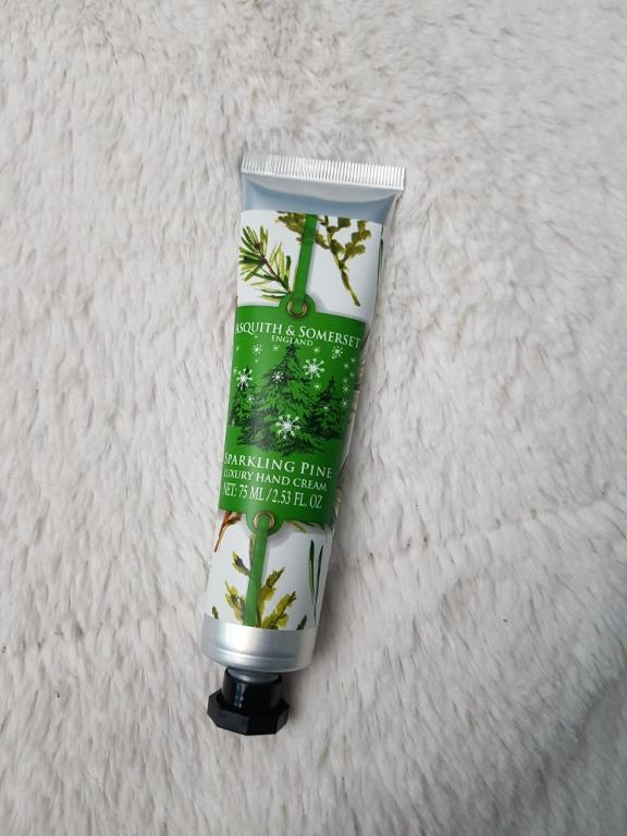 Asquith and Somerset Sparkling Pine Hand Cream