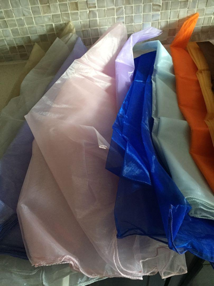 Assorted table toppers tablecloths $5 each
