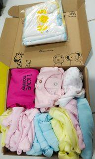Baju bayi newborn kaos dalam gurita take all